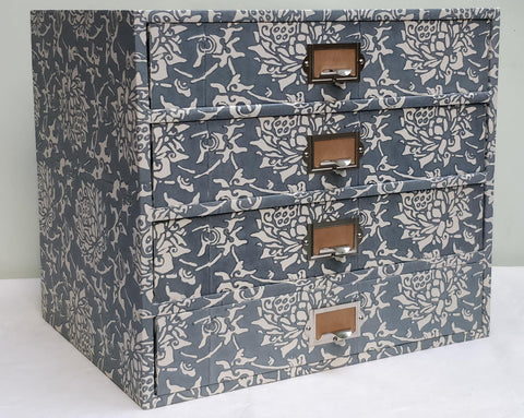 Grey 2, Closed Peony Drawers