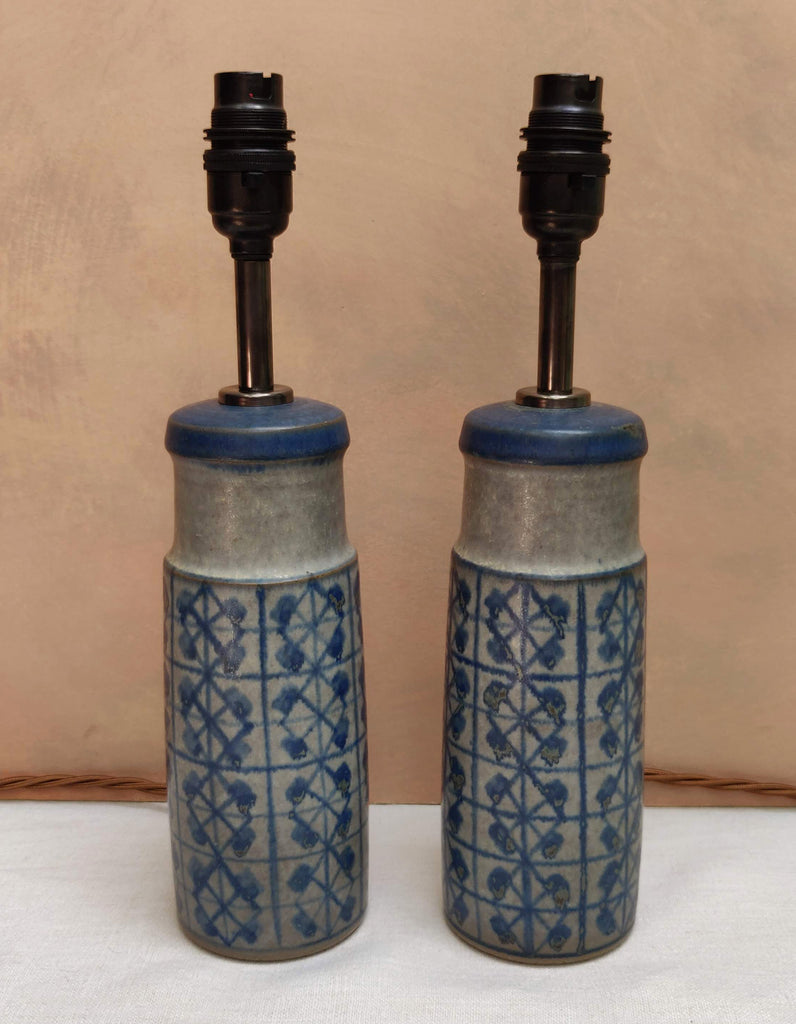 A pair of Vintage Danish lamp