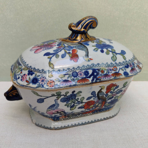 Small Patent Ironstone tureen c1850