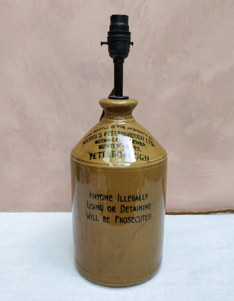 Brewers jar lamp