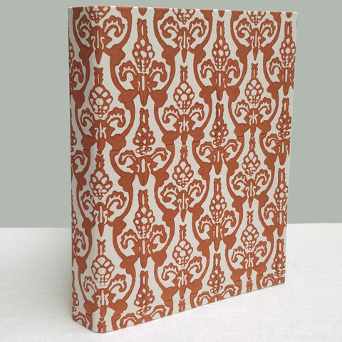 Burnt Orange Harpden ringbinder