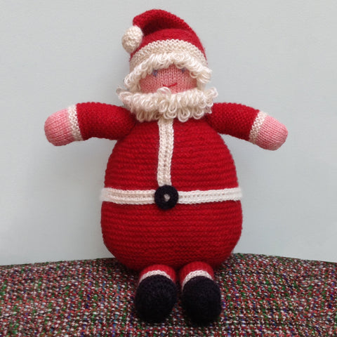 Hand Knitted Father Christmas