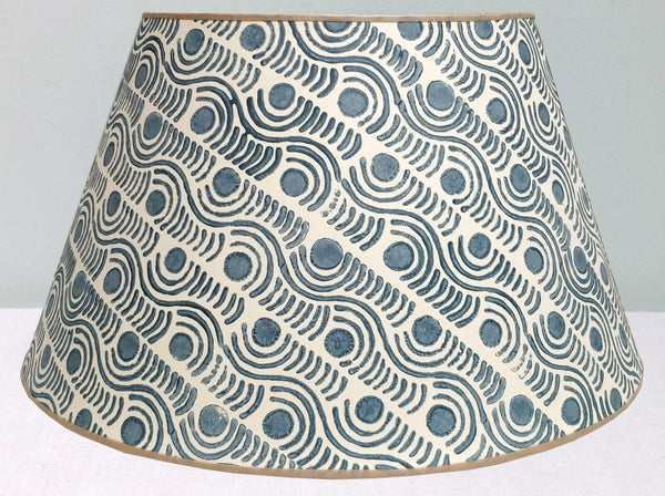 "16"" Grey 2, Madras Spot Lampshade"