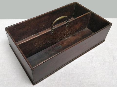 Mahogany knife box
