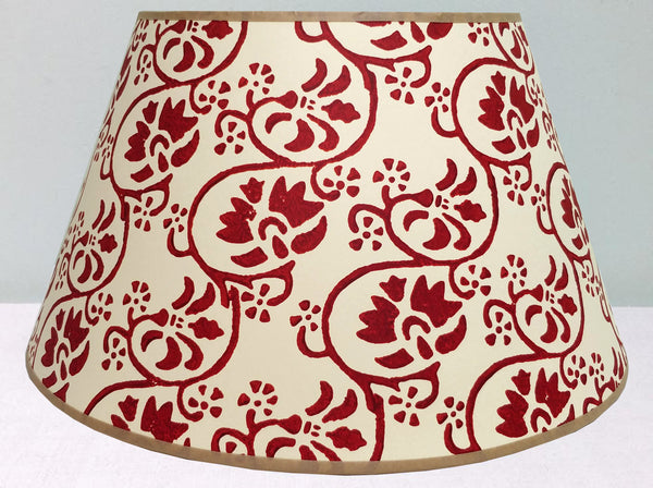 "16"" Purple-red mix lampshade"