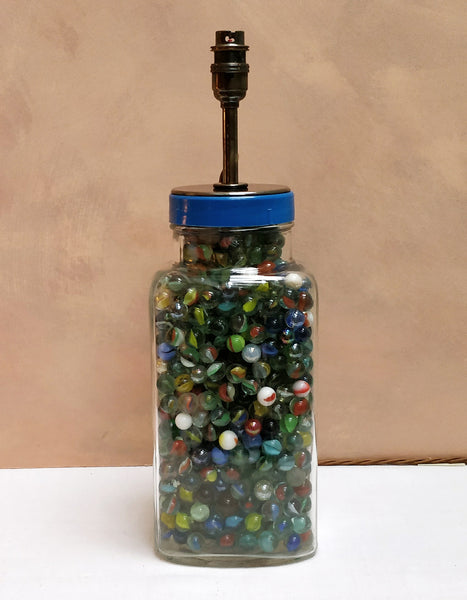 Marbles lamp