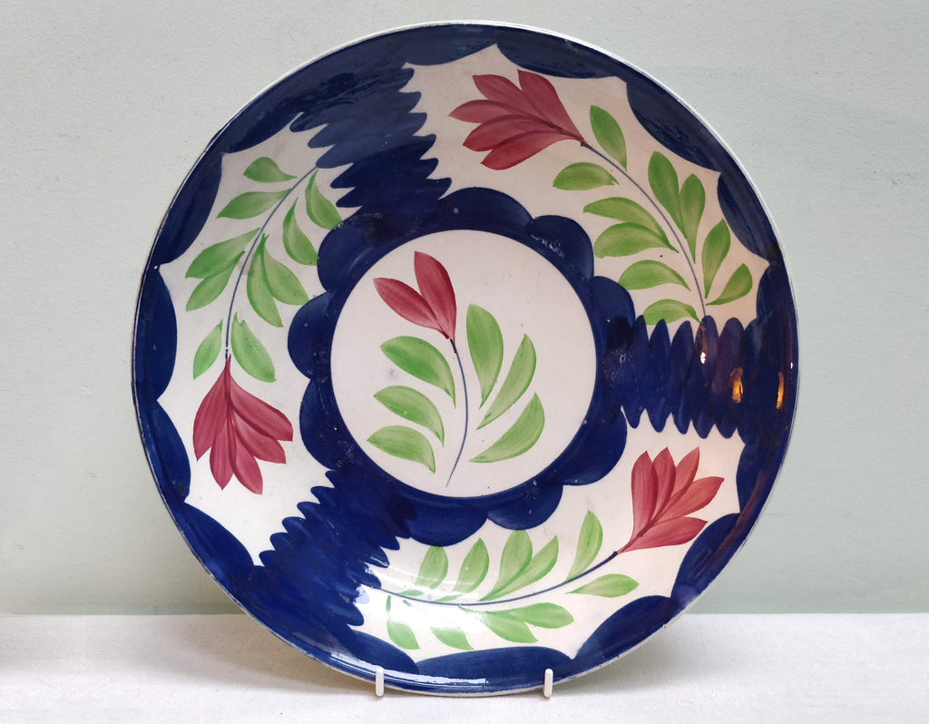 19th Century Hand painted bowl