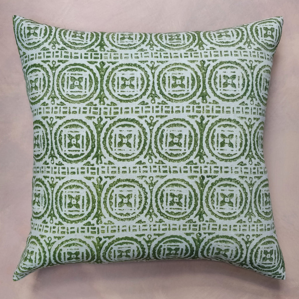 Elf leg green chute cushion