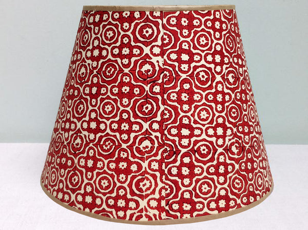 "10"" Mini-Stella Purple-Red Mix Lampshade"