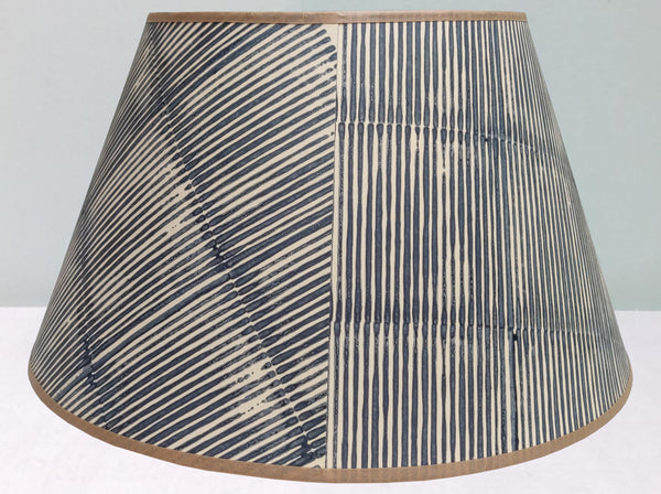 "16"" Grey 2, Thin Lines Lampshade"