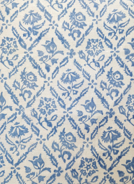 Elizabethan, china blue handkerchief