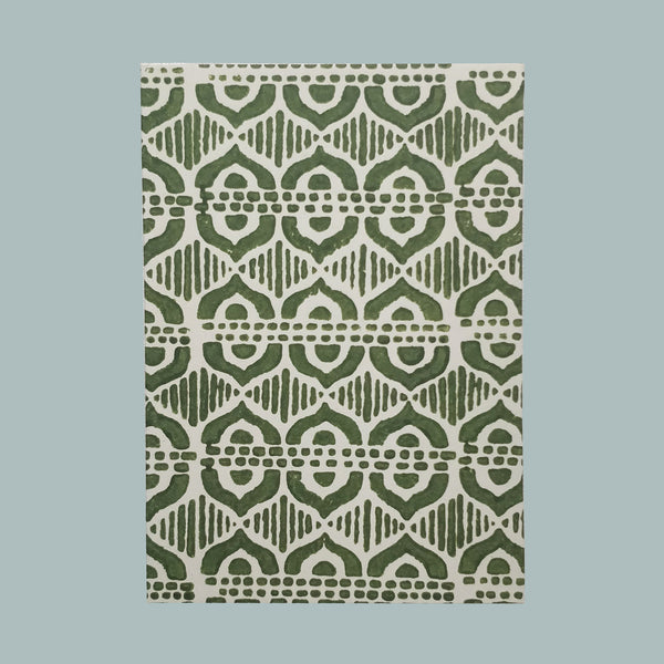 sludge green celtic notebook