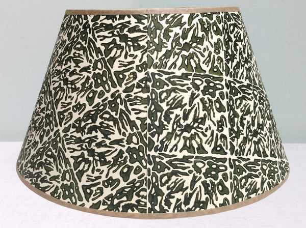 "18"" mobility, sludge green lampshade"
