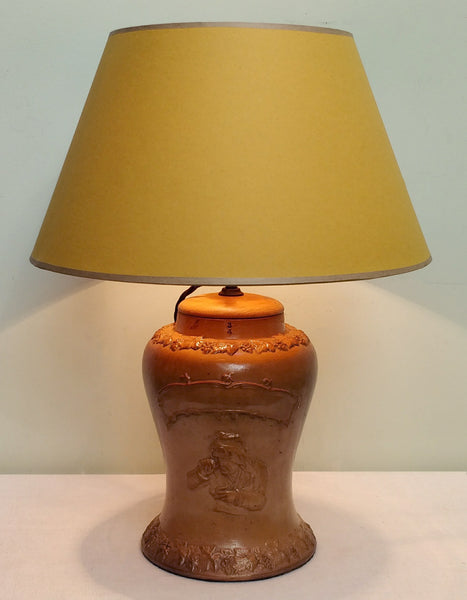 Snuff jar lamp