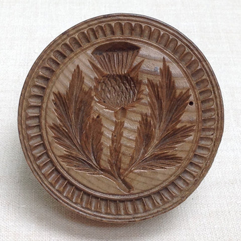 Thistle butter mould