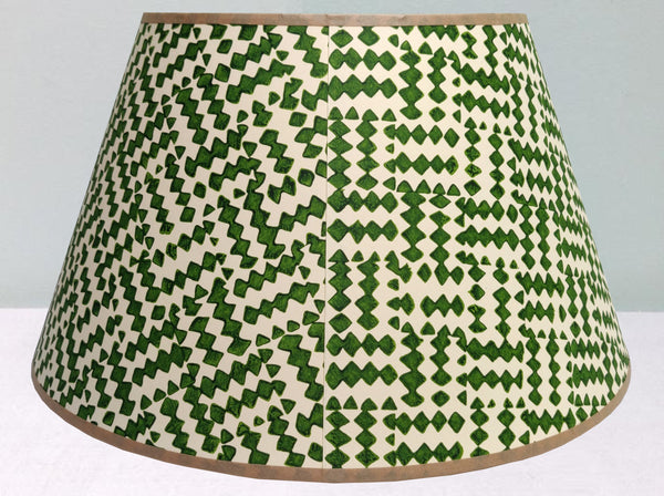 "16"" Diamond Rotate, Deep Blue Green Lampshade"