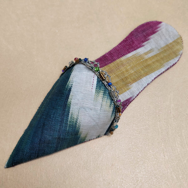 Ikat turkish slipper