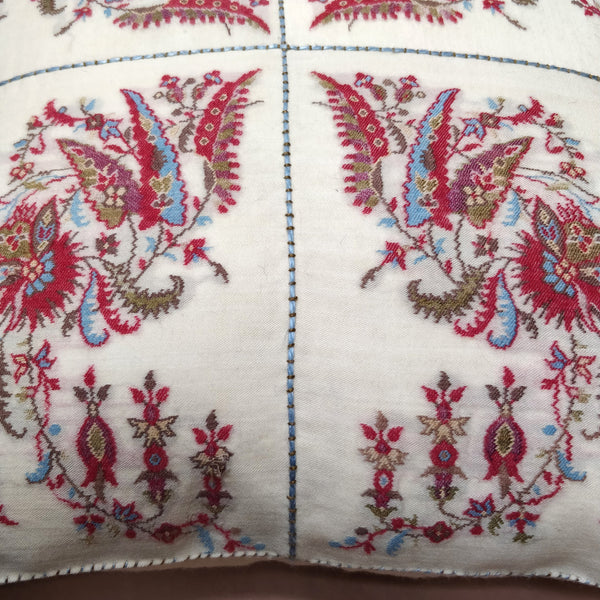 19th Century Paisley cushion