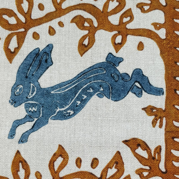 The hare blue
