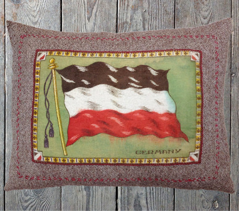 Germany flag cushion