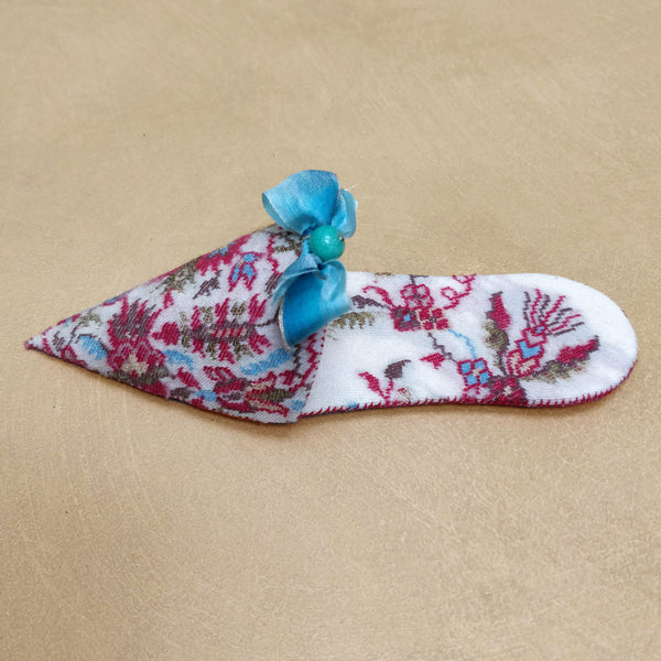 Paisley turkish slipper