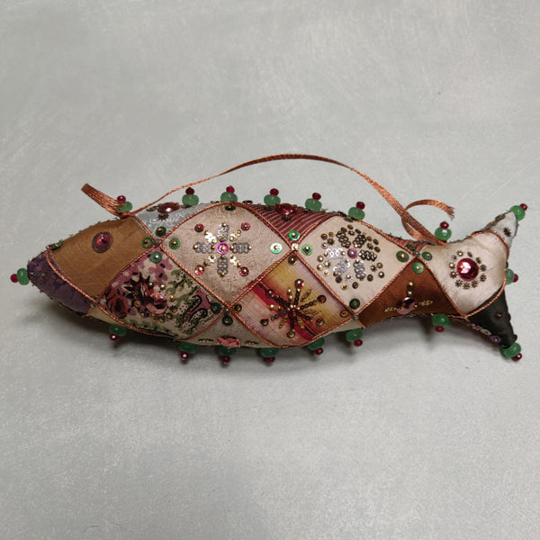 A patchwork fish