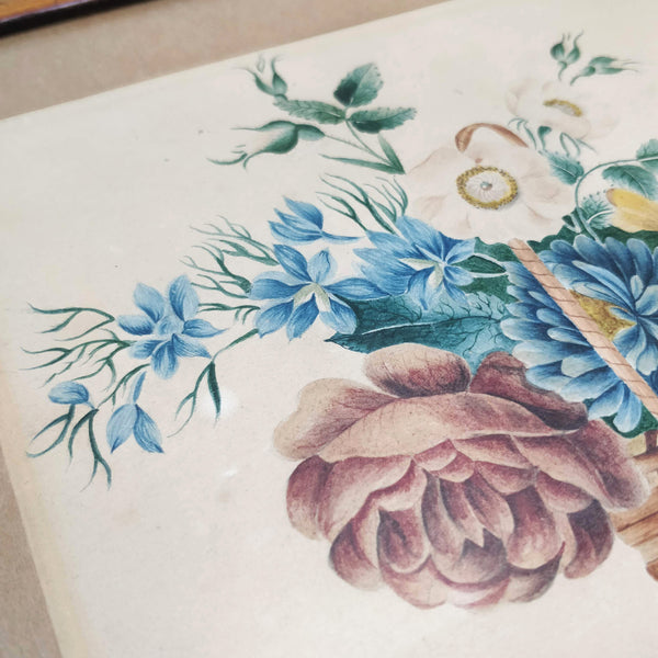 Early 19th Century floral watercolour