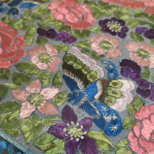 19th Century Chinese embroidered silk