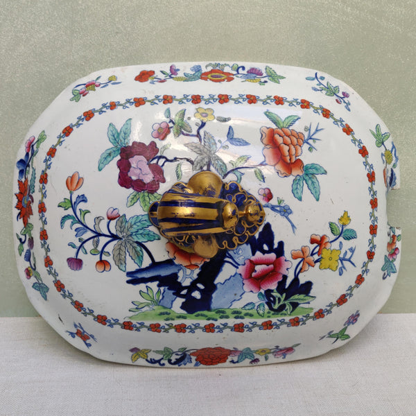 Large Ironstone Tureen circa 1840's A/F