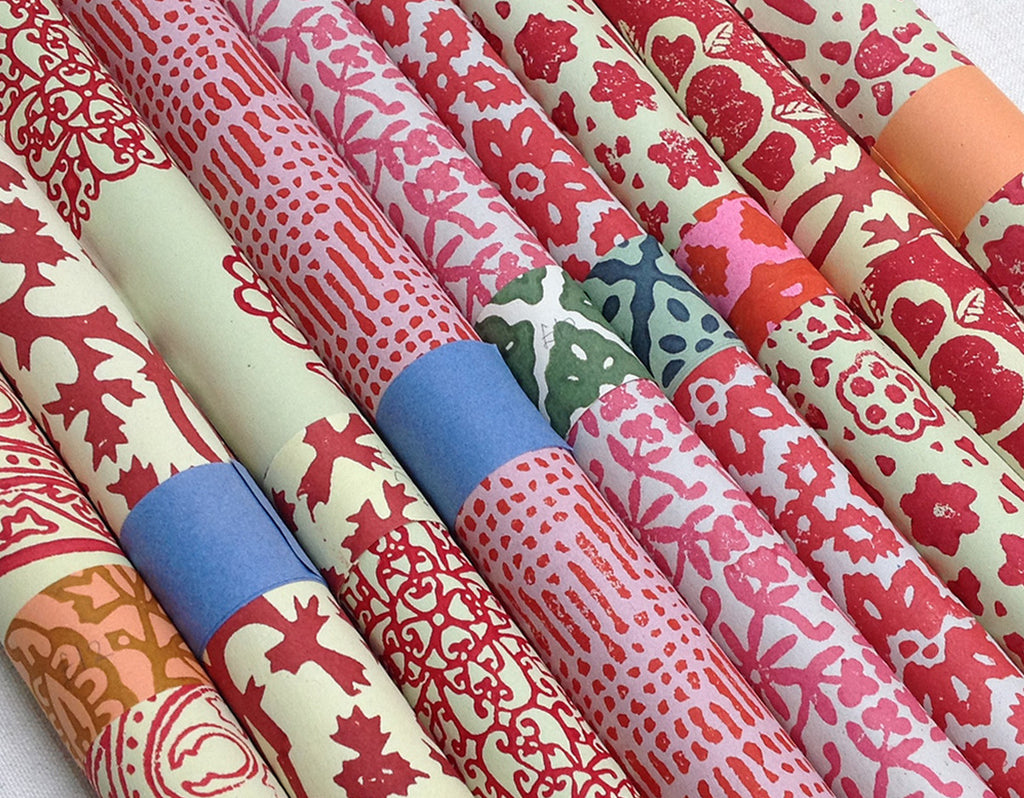 selection of wrapping paper