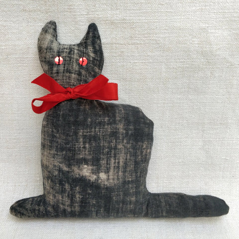 Painted Black lavender cat