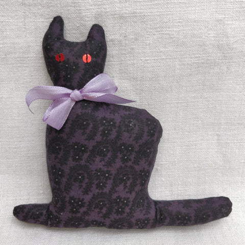 Purple cotton Lavender cat