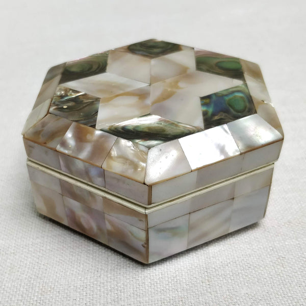 19th Century mother of pearl box
