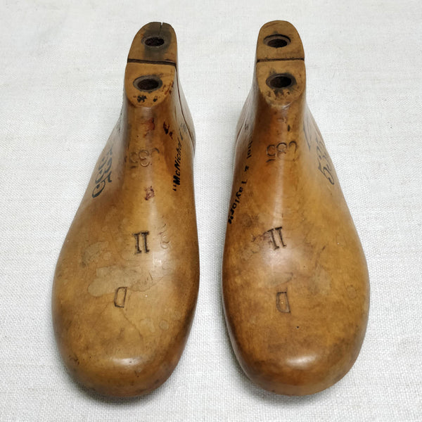 Pair of antique Shoe forms