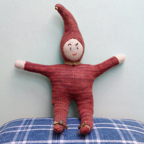 Hand knitted sprite