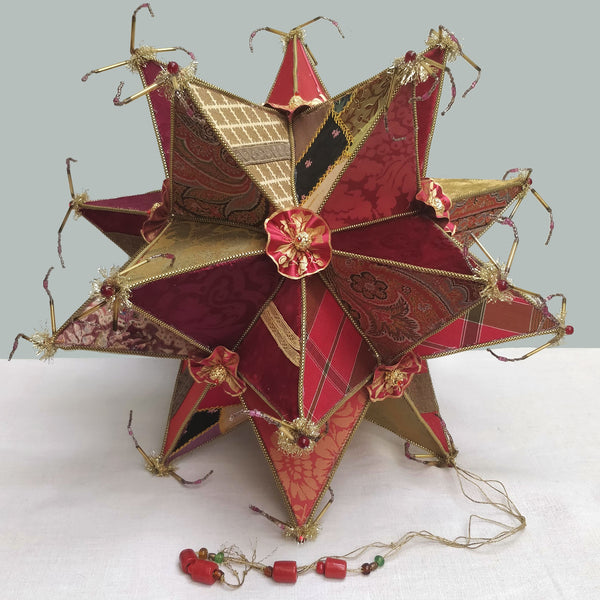 A massive Christmas star