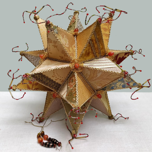 A large Christmas star