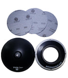 Portable Ball Spinner + 3 Pack TruCut Sanding Pad