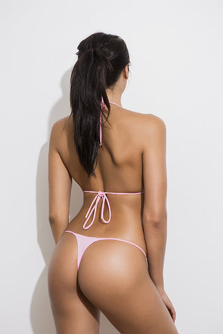GOALS - Tie Side Bottoms - Baby Pink