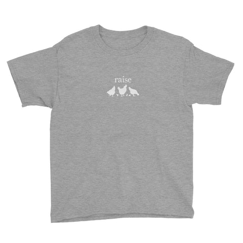 raise chickens v2 | Youth Tee