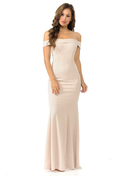 Mira Off Shoulder Gown - More colors | Lenovia