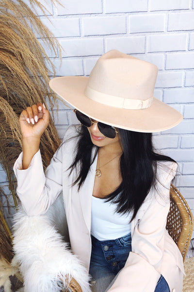 Barry Stiff Brim Wool Panama Hat - More  colors