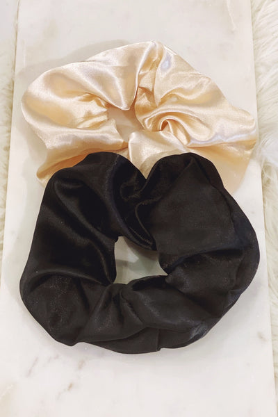 Large Satin Scrunchie- more colors