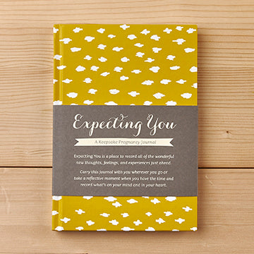 Expecting You - A Keepsake Pregnancy Journal Book