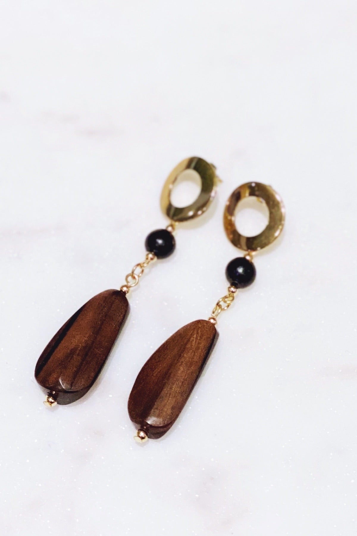 Wood Dangle Earring | Anarchy Street