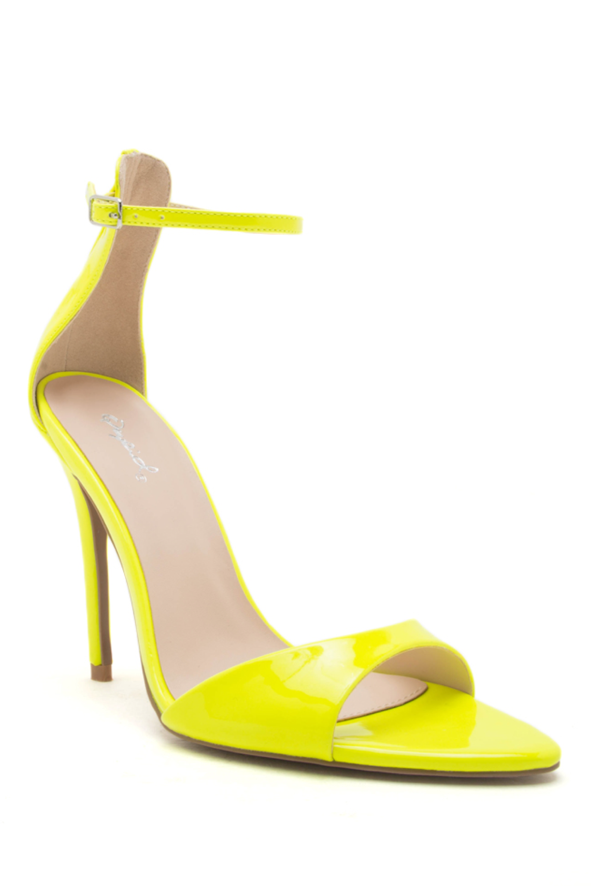 Mia Neon Heel - Neon Yelllow | Qupid
