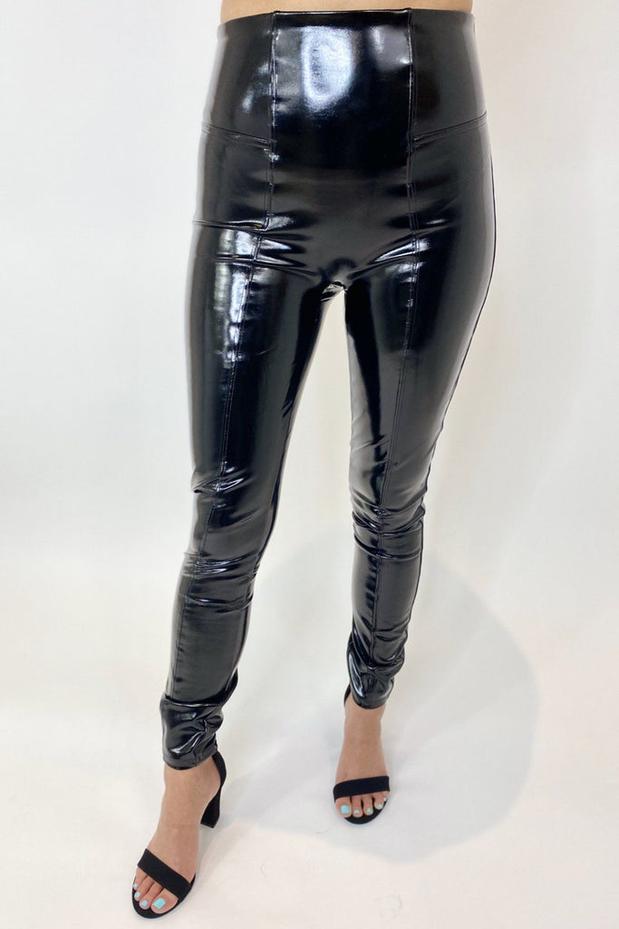 Spanx Faux Patent Leather Legging
