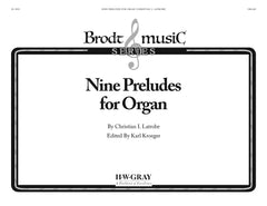 Nine Preludes for Organ