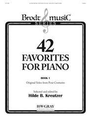 42 Favorites for Piano Book 1