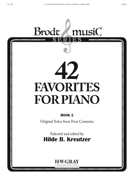 42 Favorites for Piano Book 2